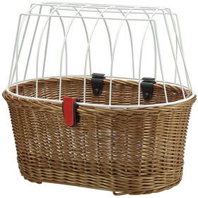 KlickFix Doggy Basket Koszyk rowerowy Klips do koszyka brązowy